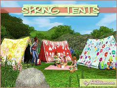 Sims 3 tents, objects