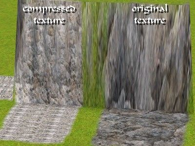 Sims 3 terrain, paint, rock