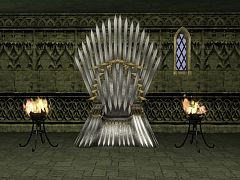 Sims 3 object, throne