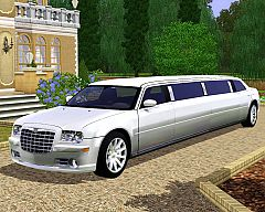 Sims 3  chrysler, 300 c, limo, cars ,cars