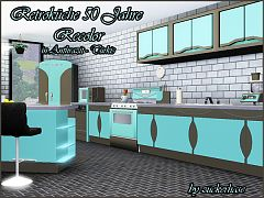 Sims 3 kitchen, objects, decor, recolor, sims3