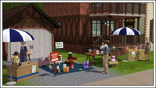 Sims 3 objects, furniture, set