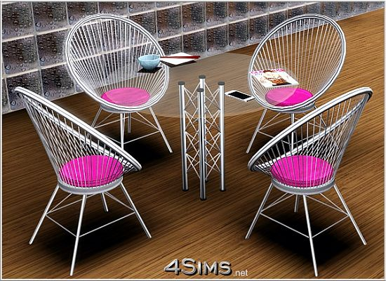 Sims 3 chair, table, furniture, objects