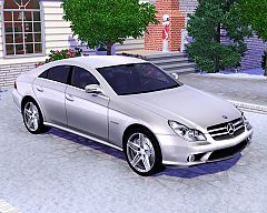 Sims 3  mercedes, benz, cls63, amg
