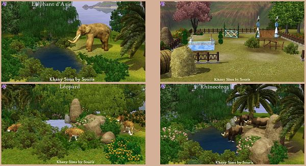 Sims 3 animals, objects, decor