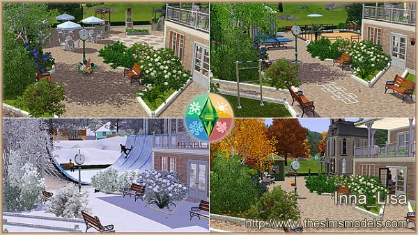 Sims 3 community, lot, town, sims3