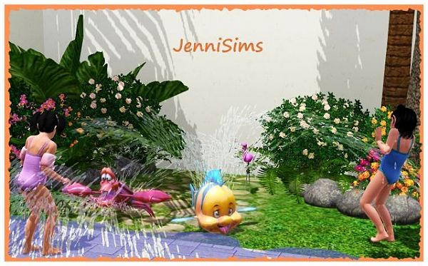 Sims 3 objects, decor, set