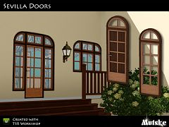 Sims 3 build, set, doors
