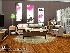 Sims 3 livingroom, furniture, objects, decor, sims3