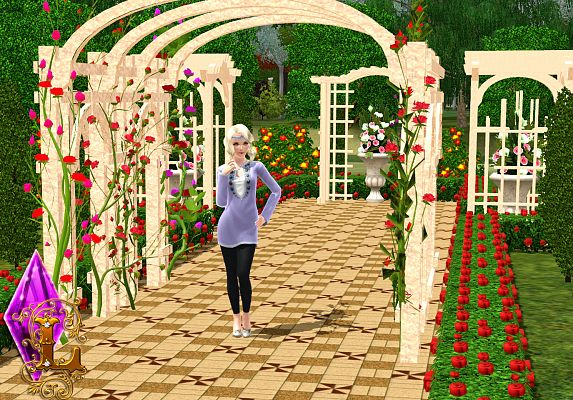 Sims 3 build, objects, garden, sims3