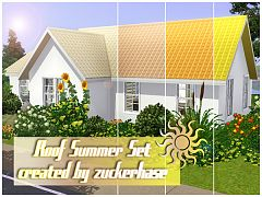 Sims 3 roofs, build, objects, decor