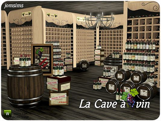 Sims 3 cellar,  furniture, objects