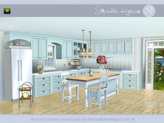 Sims 3 kitchen, objects,  furniture, decor, sims3