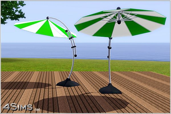 Sims 3 decor, object, umbrella