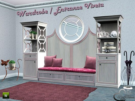 Sims 3 wardrobe, furniture, set
