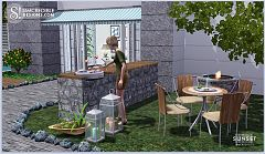 Sims 3 outdoor, furniture, objects, set