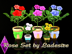 Sims 3 flowers, set, floral, plants, sims3