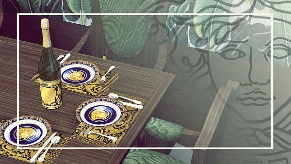 Sims 3 plates, decor, objects