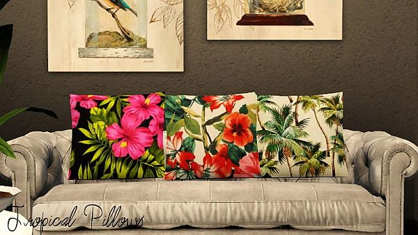 Sims 3 pillows, objects, decor, sims3