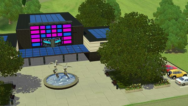 Sims 3 community, lot, modelling agency, sims3