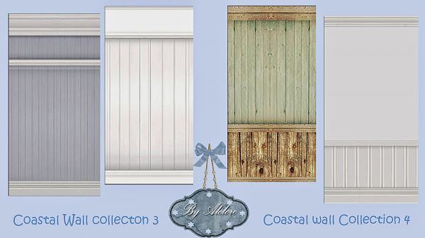 Sims 3 patterns, walls, decor