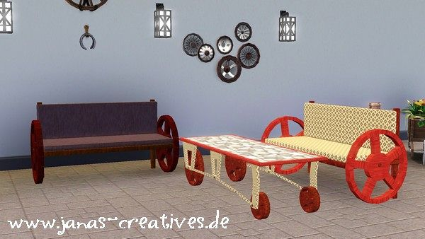 Sims 3 objects, decor, sofa, living