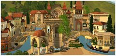 Sims 3 city, world, venue