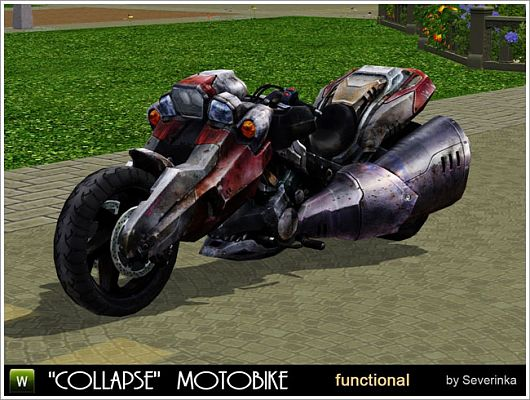 Sims 3 motobike, objects, decor