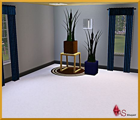 Sims 3 plant, decor, flowers