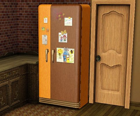Sims 3 refrigerator, appliances
