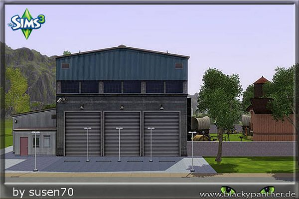 Sims 3 lot, residential, studio