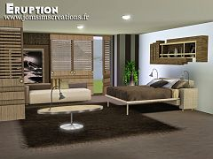 Sims 3 bedroom, furniture, objects, decor