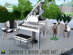 Sims 3 outdoor, furniture, objects, decorative
