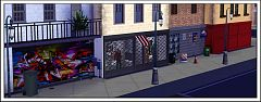 Sims 3 shutters, curtains, decor, objects