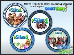 Sims 3 wall, clocks, wall clocks