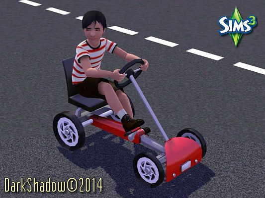 Sims 3 cart, vehicle