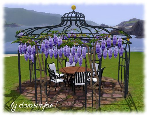 Sims 3 pavilion, garden, objects