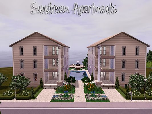 Sims 3 apartments, house, lots