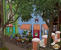 Sims 3 shop, lot, community