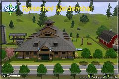 Sims 3 lot, community, centre