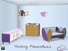 Sims 3 nursery, kids bedroom, furniture, objects, decor