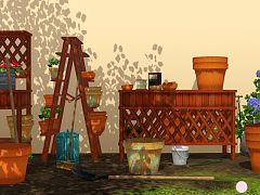 Sims 3 garden, objects, decor, sims3