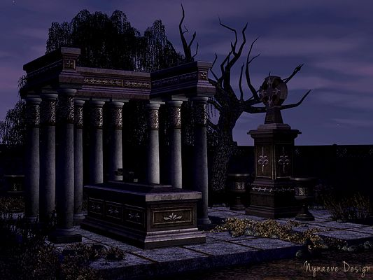 Sims 3 Halloween, objects, decor, sims3
