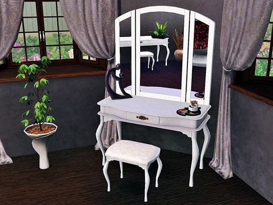Sims 3 vanity, furniture