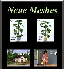 Sims 3 plants, patterns, clothes, residential, lot