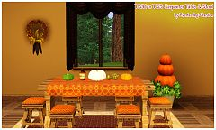 Sims 3 decor, object, set, jacket, walls