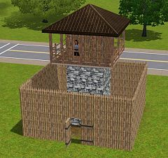 Sims 3 fence, build, arhitecture, construction
