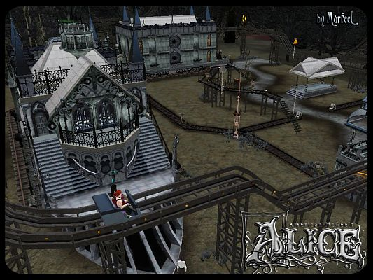 Sims 3 community, lot, train, sims3