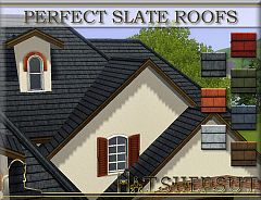 Sims 3 roof, build, construction, arhitecture