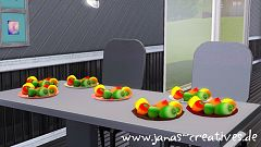 Sims 3 peppers, objects, decor